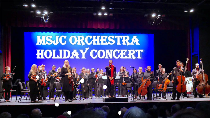 MSJC Orchestra Holiday Concert