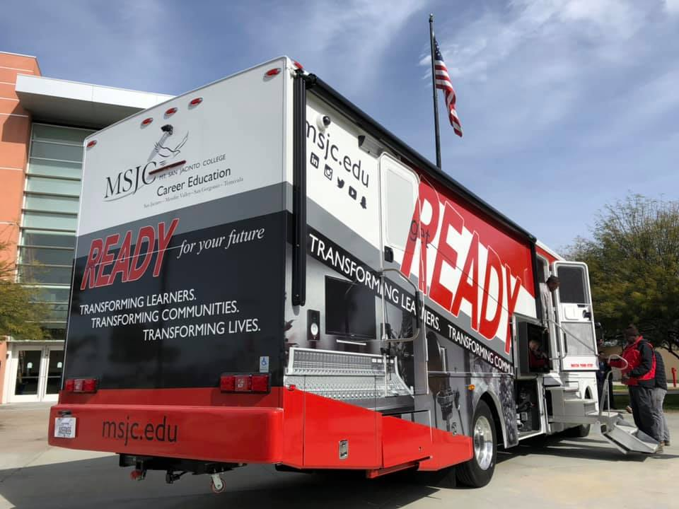 MSJC Mobile Career Center