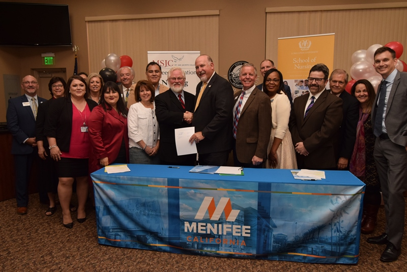 MSJC and Loma Linda University Sign Transfer Agreement