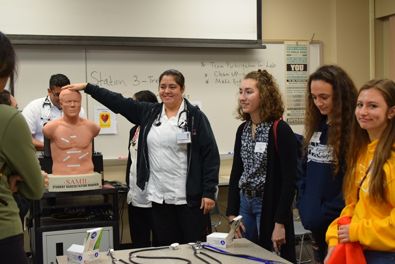 3rd Annual Discovery Camp: The two-day event at MSJC teaches high school students about careers in healthcare