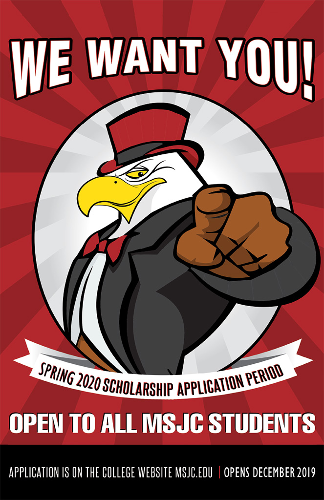 We want you to apply for scholarships