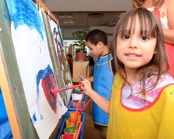 TEDSe Child Painting